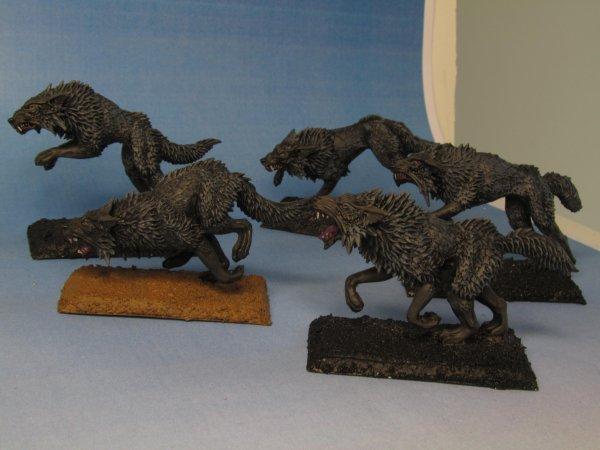 Armée des Comtes Vampires : Loups Noirs